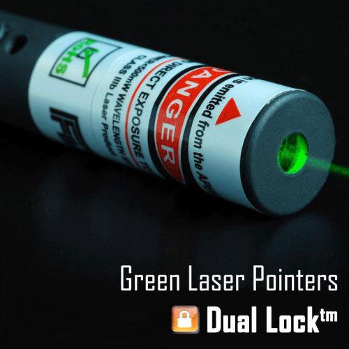 punteros láser verde